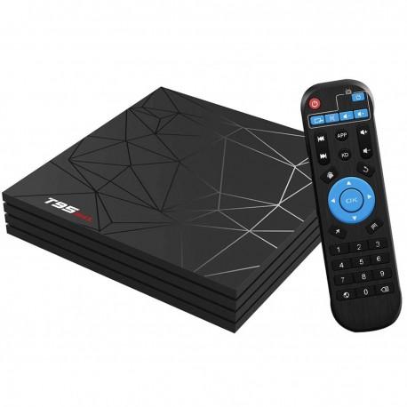 TV Box T95 Max Mini PC Quad Core ARM Cortex A53, 2GB Ram/ 16GB ROM, 6K UltraHD, Android 9.0, WiFi, Google Play, HDR 6K, USB 3.0