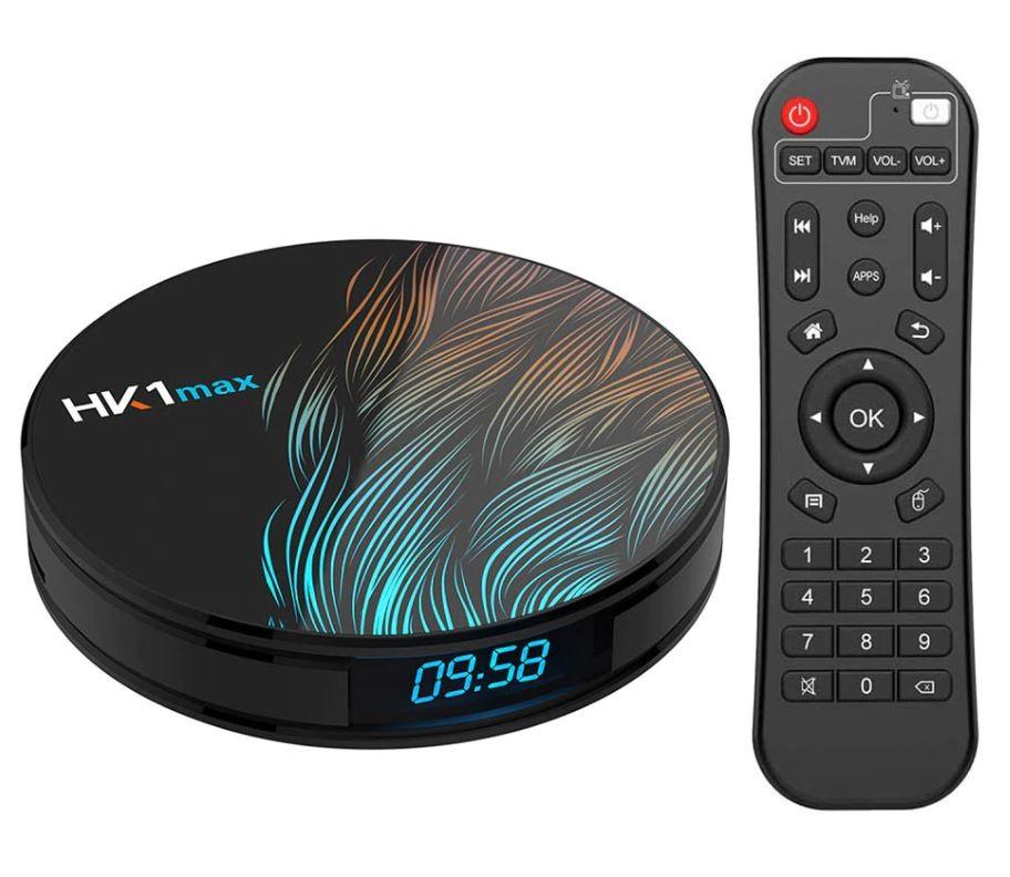 TV Box HK1 Max RK3318 2.4GHz Android 9.0 KODI 18.0, 4GB RAM si 32GB ROM, UltraHD 4K, Mini PC cu BT 4.0, WiFi imagine techstar.ro 2021