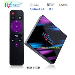 MINI PC ANDROID 9.0, TV BOX, MEDIA PLAYER 4K, H96 MAX, 4GB/64GB
