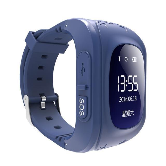 Ceas Smartwatch pentru Copii Albastru Inchis Q50+ Slot Cartela SIM, GPS Tracker, Buton Urgenta SOS, Monitorizare Live poza 2021