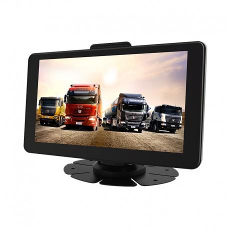 "Gps Auto Navigator Techstar® M83 PRO Android 512 RAM 16GB Display 7"" FullHD BT & WI-FI Camera Video DVR 1080P"