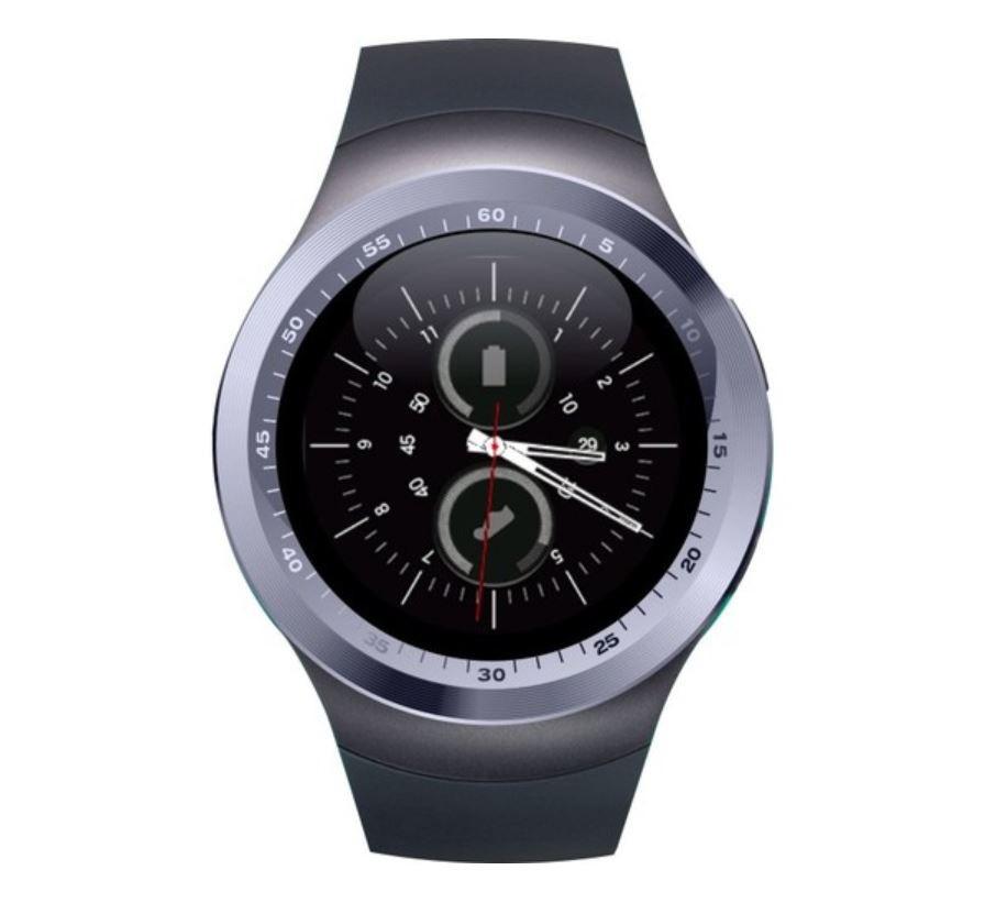 Smartwatch Y1 Telefon 1.54 pentru Android si IOS, compatibil multiple aplicatii