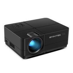 Videoproiector LED, FullHD, Home Cinema, 200 Lumeni, USB, 2x HDMI, AV, Jack Audio cu Focus