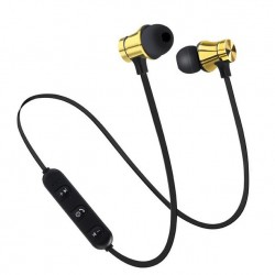 Casti Wireless Bluetooth Sport BT4 Waterproof Tip In-Ear Headset Microfon Incorporat Aurii