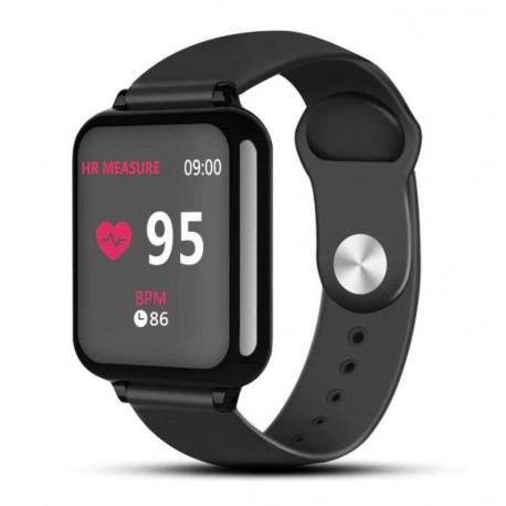 Smartwatch B57 Waterproof, Fitness Tracker Unisex, Monitorizare Puls, IP67, Bluetooth, SIM