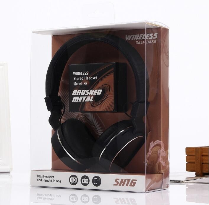 Casti Audio Bluetooth si MP3 SH16 imagine techstar.ro 2021