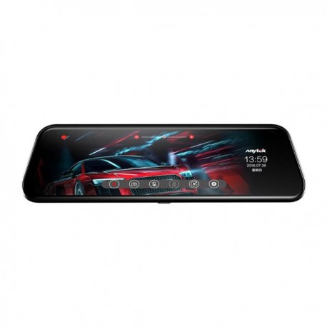 """Anytek Traveling Recorder 9.66"""" Touch Screen Nitgh Vision Mirror Dash Cam"""