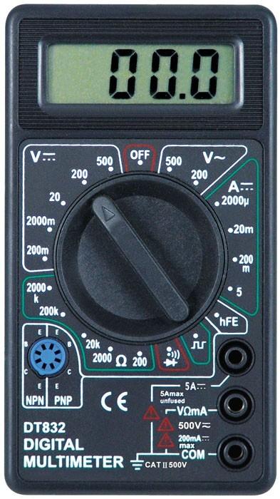 Multimetru Digital LCD DT832B imagine techstar.ro 2021