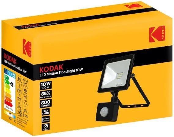 Proiector LED cu Senzor de miscare Floodlight Kodak, 10W (100W) imagine techstar.ro 2021