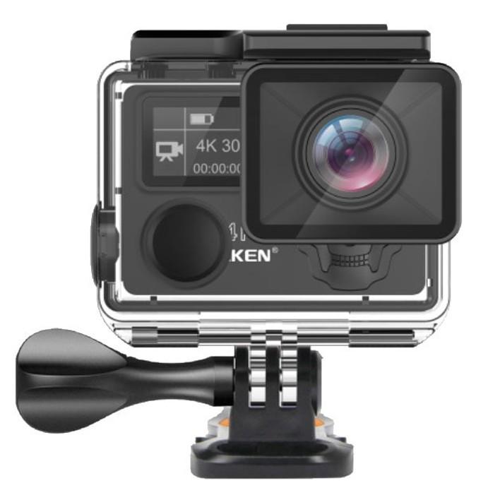 Camera Video Sport Originala EKEN H5S UltraHD 4k Stabilizator 12MP Wifi 2''LCD Telecomanda Ambarella A12 Unghi 170 Grade imagine techstar.ro 2021