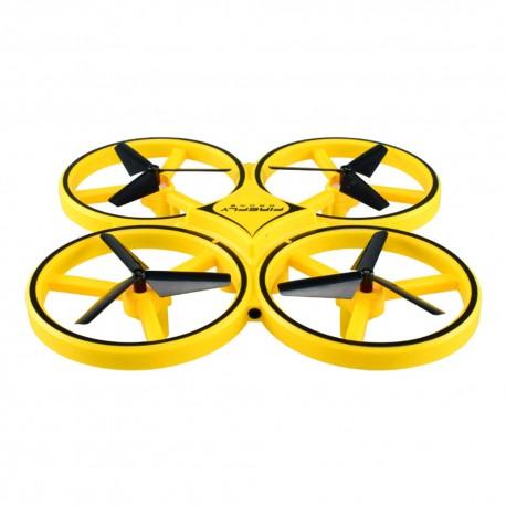 Drona Electrica Techstar®, Jucarie Avion cu Leduri, Quadcopter Intelingent