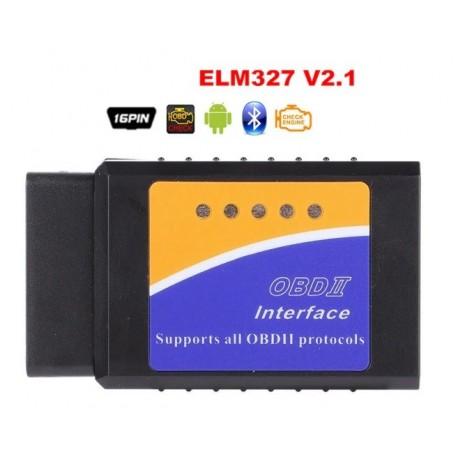 Interfata diagnoza multimarca, Bluetooth ELM 327 OBDII V2.1, Torque