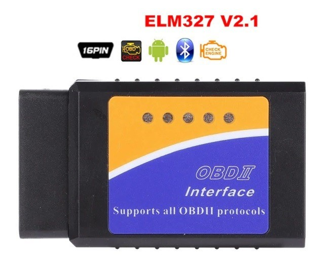 Interfata diagnoza multimarca, Bluetooth ELM 327 OBDII V2.1, Torque imagine techstar.ro 2021