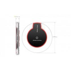 Incarcator wireless /inductie Fantasy ,fast charging, Qi standard negru, cablu microusb inclus