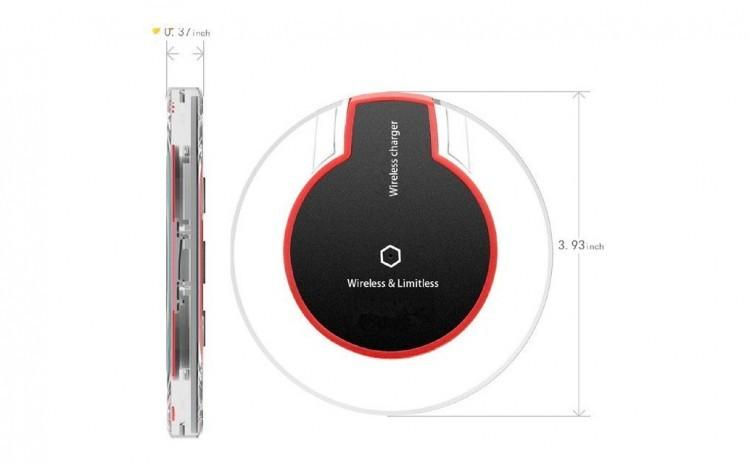 Incarcator wireless /inductie Fantasy ,fast charging, Qi standard negru, cablu microusb inclus imagine techstar.ro 2021