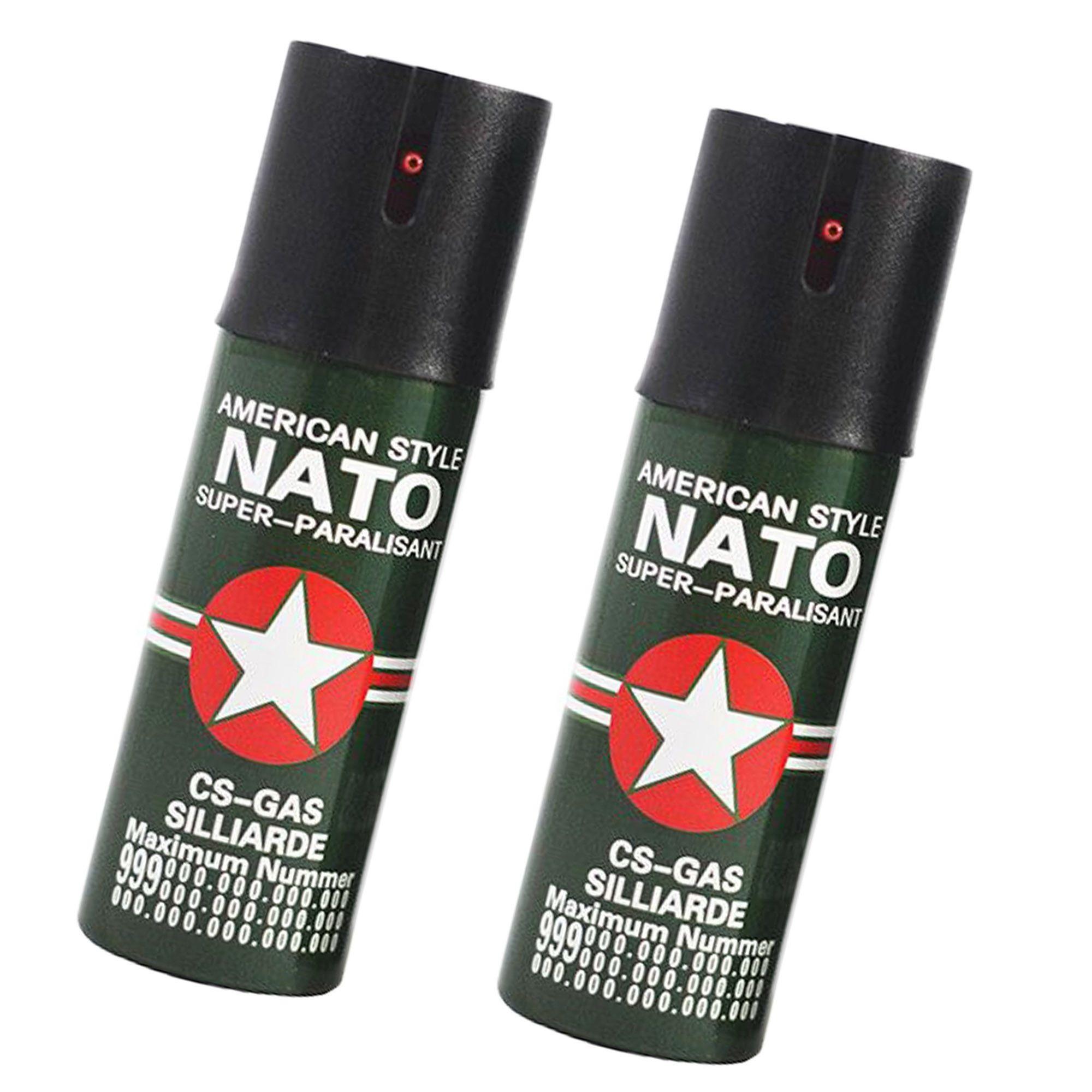 Set 2 spray-uri de autoaparare Nato imagine techstar.ro 2021