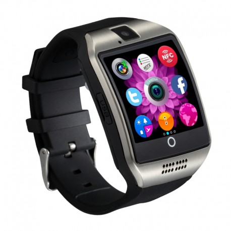Smartwatch Vogue Y18 Curved NFC cu Camera si Telefon 3G