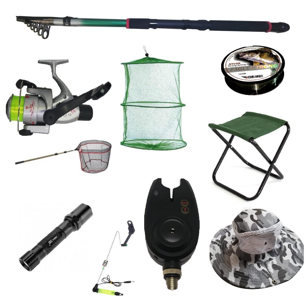 Set cu lanseta pescuit telescopica 3.6m, mulineta CB440 pentru Pescuit Sportiv si accesorii imagine techstar.ro 2021