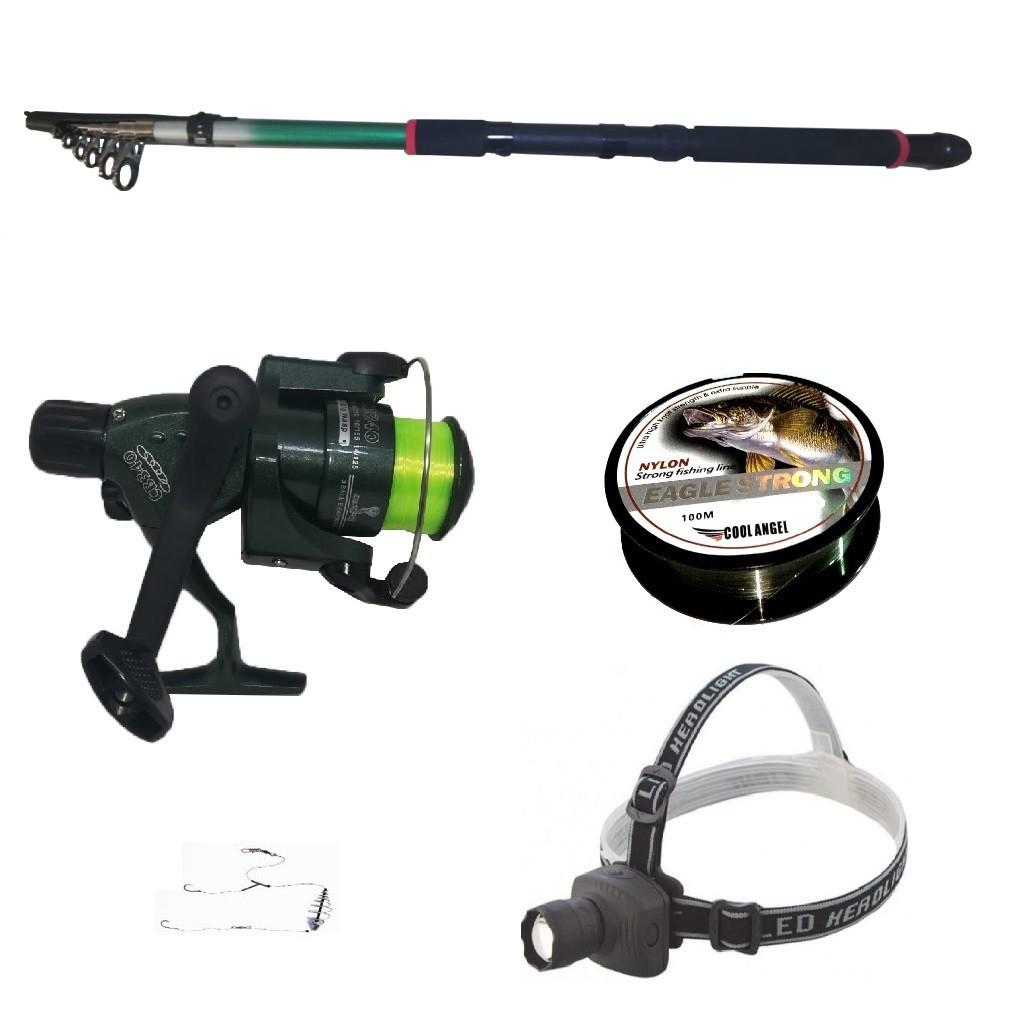 Pachet pescuit sportiv lanseta 3,6m, mulineta CB340 imagine techstar.ro 2021