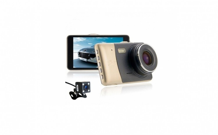 Camera auto dubla, Ecran 4 Inch, Full HD imagine techstar.ro 2021
