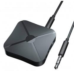 Transmitator si Receptor Audio Techstar® KN319, Bluetooth 4.2, Wireless, 2in1, Real Stereo, Adaptor TV, 3.5mm