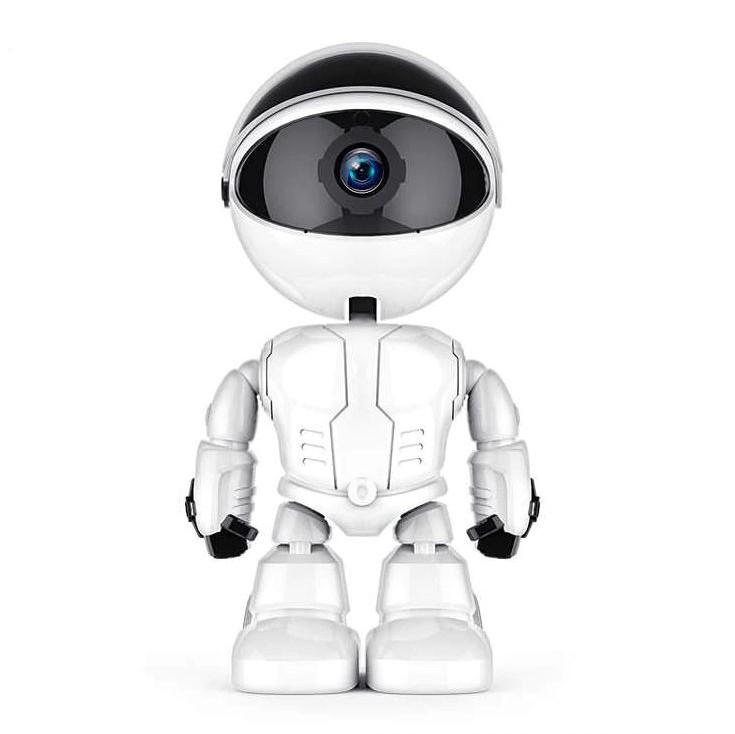 Camera IP Robot Techstar® Fredi Cloud, Home Security, Robot Smart, Auto Tracking, Dual Audio, Aplicatie P2P imagine techstar.ro 2021