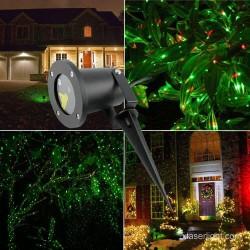 Proiector metalic de lumini laser cu telecomanda si timer ce acopera pana la 60 m2