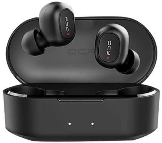 Casti Techstar® Qcy T2c Cu Bluetooth 5.0, In Ear, Handsfree, 800mah, Waterproof, Extra Bass, Compatibile Android Si Ios