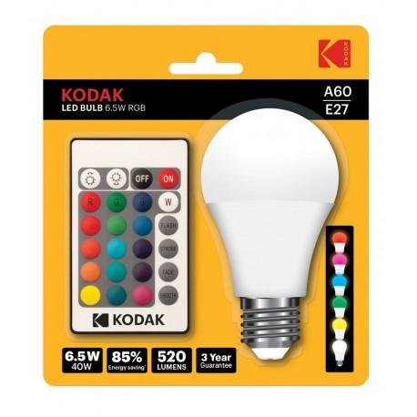 Bec LED RGB cu telecomanda Kodak