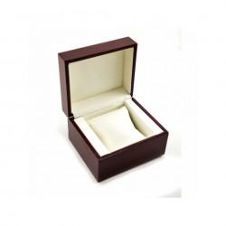 Cutie pentru depozitare ceas din lemn visiniu