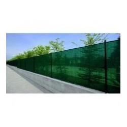Plasa verde umbrire pentru gard 1 x 9 M