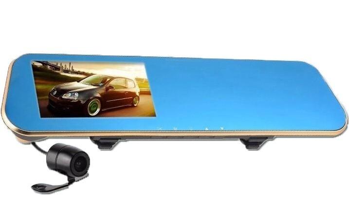 Camera Auto Oglinda Retrovizoare iUni Dash M55, Full HD, Unghi filmare 170 grade, by Anytek
