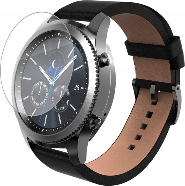 Folie de protectie iUni pentru Smartwatch Samsung Gear S3 Plastic Transparent imagine techstar.ro 2021