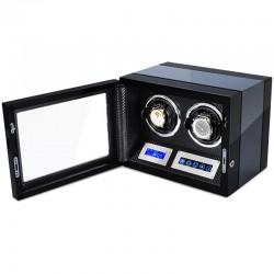 Cutie pentru intors ceasuri automatice iUni Luxury Watch Winder 2, Carbon