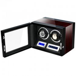 Cutie pentru intors ceasuri automatice iUni Luxury Watch Winder 2, Mahon
