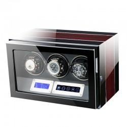 Cutie pentru intors ceasuri automatice iUni Luxury Watch Winder 3, Mahon