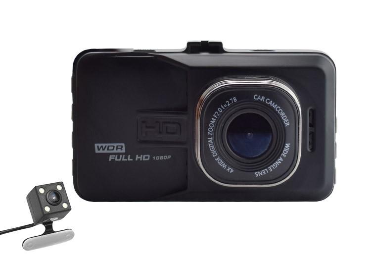 Camera Video Auto Dubla Novatek T636 FullHD cu functia WDR imagine techstar.ro 2021
