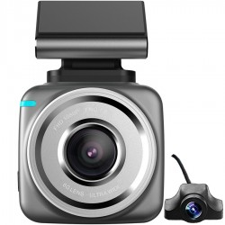 Camera auto Dubla DVR iUni Dash Q2 Plus, Display Touchscreen 2 inch IPS, Full HD, Night Vision, Senzor G, by Anytek