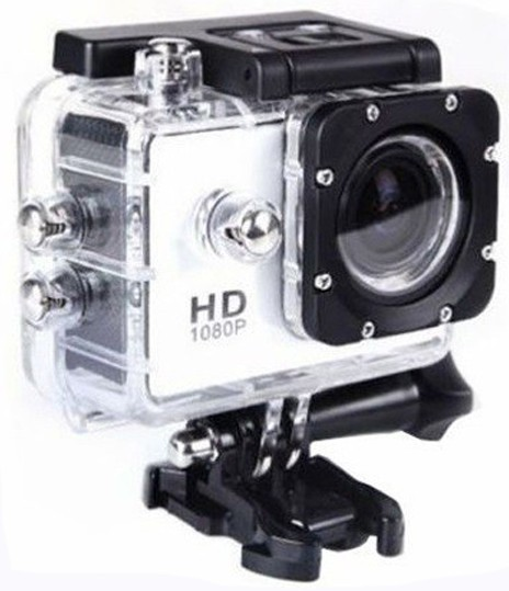 Camera Sport iUni Dare 50i HD 1080P, 12M, Waterproof, Alb imagine techstar.ro 2021