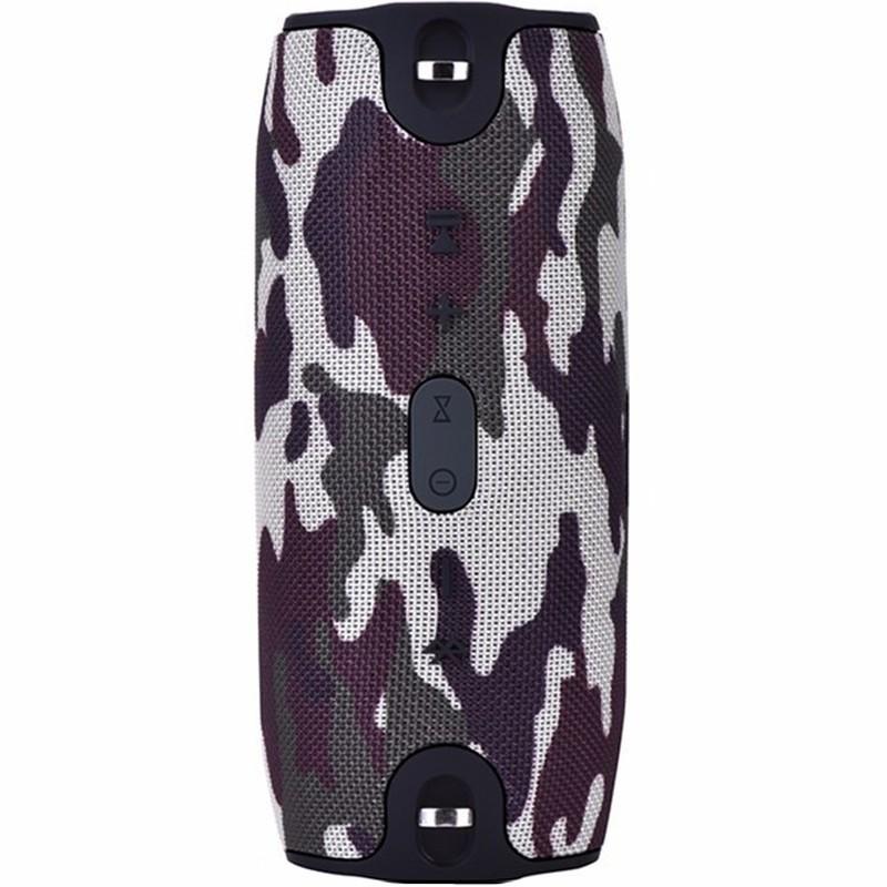 Boxa Portabila Bluetooth iUni DF20, Slot Card, Army