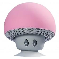 Boxa Portabila Bluetooth iUni DF17, Microfon, Apeluri Handsfree, Roz