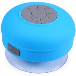 Boxa Portabila Bluetooth iUni DF16, Rezistenta la stropi de apa, Albastru