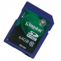 Card Kingston SD 64GB