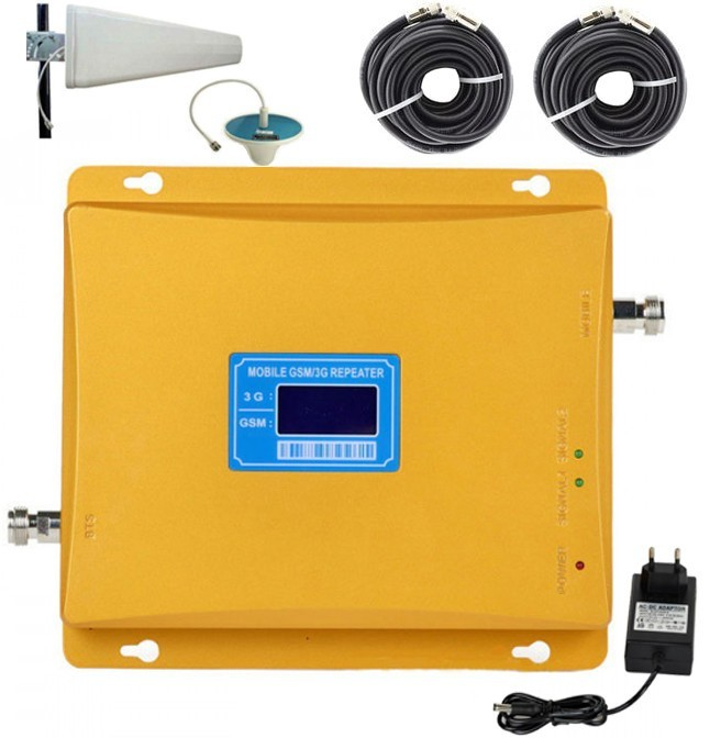 Amplificator semnal GSM 3G iUni KW17G-GD, 900/2100 MHz imagine techstar.ro 2021