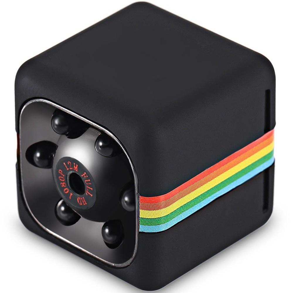 Mini Camera Spion iUni SQ11, Full HD 1080p, Audio Video, Night Vision, TV-Out, Black imagine techstar.ro 2021
