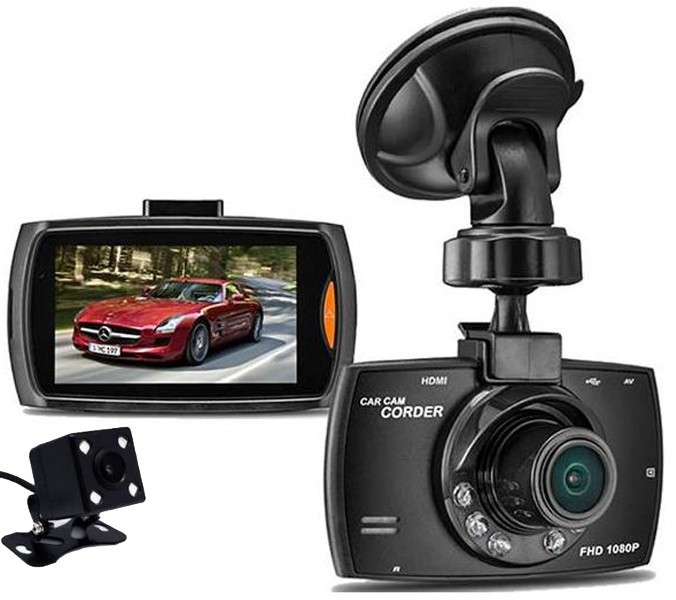 Camera auto DVR iUni Dash G30, Double Cam, Display 2.7 inch IPS, Full HD, Night Vision, Senzor G imagine techstar.ro 2021