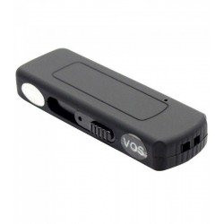 Stick USB Spion Reportofon iUni SpyMic STK97, Activare vocala, Memorie interna 8GB, Negru