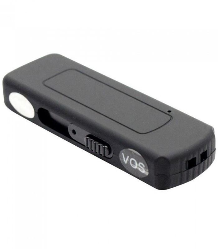 Stick USB Spion Reportofon iUni SpyMic STK97, Activare vocala, Memorie interna 8GB, Negru imagine techstar.ro 2021