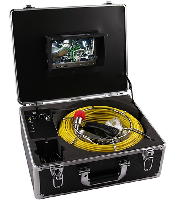 Camera Inspectie video a canalelor de scurgere si a conductelor colectoare iUni ICT1, Monitor 7 inch imagine techstar.ro 2021