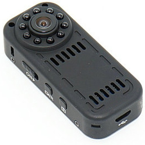 Mini Camera Spion iUni IP31, Full HD 1080p, Wireless, 140 grade Audio-Video Senzor de Miscare Night Vision